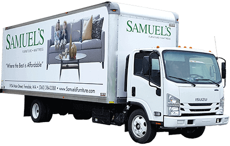 Samuels Delivery Truck